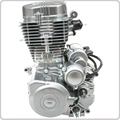 4-Stroke 125cc to 150cc CG Vertical Engine