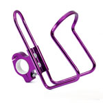 Motorcycle Bike Purple Cup Bottle Drink Mount Holder Stainless Aluminum For BMW