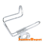 For Motorcycle Bike Cycling 7/8'' Handlebar Silver Cup Drink Bottle Holder Mount