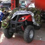 ATV Quad Camouflage Nylon Cover Woodlands Camouflage ATV Cover Easy On/Off Used