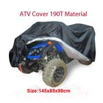 Polyester Waterproof bike Cover For Quad Bike ATV 145x85x98cm Available