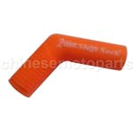 Orange Universal Motorcycle Rubber Shifter Sock Boot Shoe Protector Shift Cover