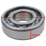 6204 Bearing for 2-stroke 50cc Moped & Scooter