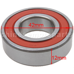 6004LU Bearing for 2-stroke 50cc Moped & Scooter