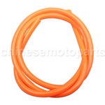 Orange Tubing Carburetor Fuel Tube Petrol Hose Vent Line for ATV Dirt Bike Go Kart Moped Pocket