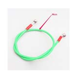 Universal Motorcycle Green High Performance Oil Line Brake Hose
