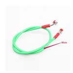 Green High Performance Oil Line Brake Hose for Universal Motorcycle