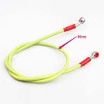 Universal Motorcycle Yellow High Performance Oil Line Brake Hose