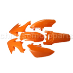 *KTM* ORANGE PLASTIC FENDER KIT HONDA CRF XR CRF50 M PS31