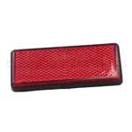 Red Rectangle Reflector Tail Brake Stop Marker for Car Truck Atuo ATV
