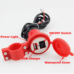 Waterproof 12V To 5V 1.5A Motorcycle Phone GPS USB Charger Power Adapter Trendy