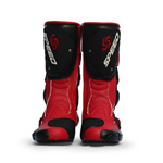 100% Pro-Biker Shock-absorbing Motorcycle Track Racing Riding Boots-RED