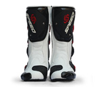 NEW PRO-BIKER Motorcycle Sport Racing Boots Riding Boots White EUR Size 40-45