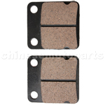 Front Disc Brake Pads Pad for GY6 125 150cc Moped Scooter ATV Part