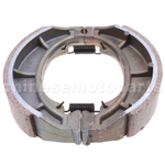 REAR DRUM BRAKE SHOES PAD 125mm GY6 4STROKE CHINESE SCOOTER ATV 50-250cc TAOTAO
