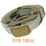GY6 125cc 150cc Gas Scooter Rear Clutch Shoe for 152QMI 157QMJ Engine Moped