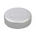 CNC Brake Oil Fuel Reservoir Cap Cover Silver