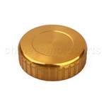 CNC Brake Oil Fuel Reservoir Cap Cover Golden