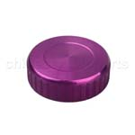 CNC Brake Oil Fuel Reservoir Cap Cover Purple