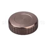 CNC Brake Oil Fuel Reservoir Cap Cover Ochre