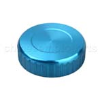 CNC Brake Oil Fuel Reservoir Cap Cover Blue
