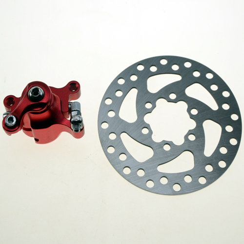 Brake Caliper 120mm Disc Rotor Brake Front Rear for MBX10 MBX11 Mini Dirt Bike 47cc 49cc Pocket