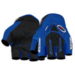 Pro-biker Racing Riding Cycling MTB Bicycle Fingerless Motorcycle Gloves M Blue