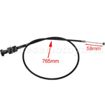 30.12 Inch Hand Choke Cable for 250cc Water-cooled ATV