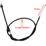 "31.5"" Throttle Cable for 70 cc 90cc 110 cc Kid ATVs Quad 4 Wheeler Taotao SunL Coolster"