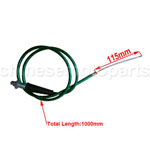 1000mm New Green Throttle Cable for for Dirt Bike