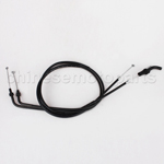 Throttle Cable A and B for KAWASAKI ZRX1200R ZRX 1200R 2001 2002 2003