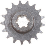 17-Teeth Reduction Gear for 2-stroke 47cc(40-6) / 49cc(44-6) Poc