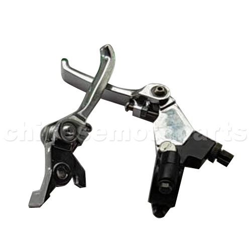 Square Folding Clutch Lever And Brake Lever For Atv  U0026 Dirt