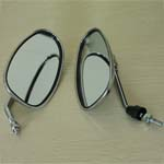Plating Rearview Mirror for 50cc-250cc ATV, Dirt Bike