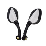 Gy6 Scooter Moped Motorcycle 50cc 125cc 150cc 250cc Rear view Mirror 8mm(Pair)