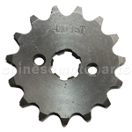 420 15-Tooth 17mm Engine Sprocket for 50cc-125cc ATV, Dirt Bike