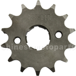 428 14-Tooth 20mm Engine Sprocket for 50cc-250cc ATV, Dirt Bike