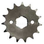 428 15-Tooth 20mm Engine Sprocket for 50cc-250cc ATV, Dirt Bike
