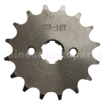 428 16-Tooth 17mm Engine Sprocket for 50cc-250cc ATV, Dirt Bike