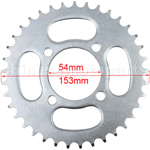 420 Sprocket for 110cc-125cc Pocket Bike