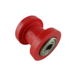 Red 10mm Chain Roller Slider Tensioner Pulley 110 125cc Dirt Pit Bike Motorcycle