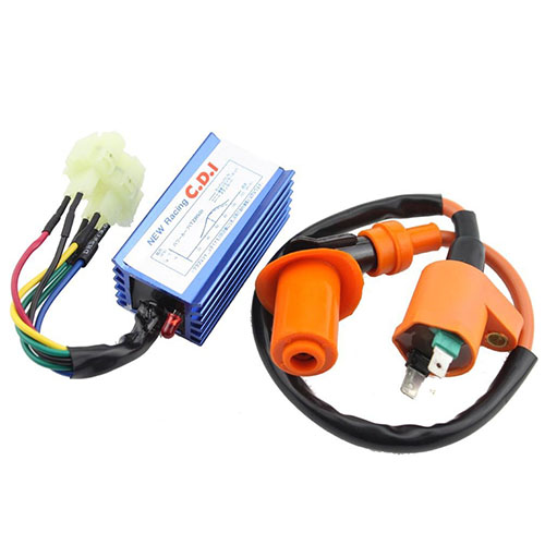6Pin CDI Ignition Coil Set for Yerf Dog GY6 50cc 60cc 80cc