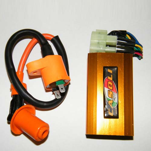Scooter High Performance Ignition Coil & Performance Racing CDI GY6