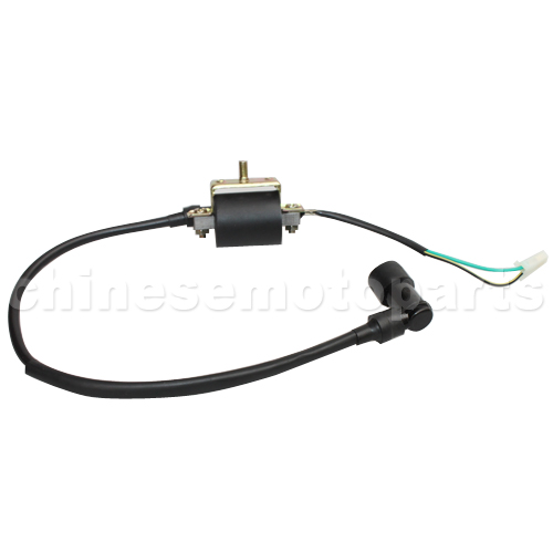 Ignition Coil for 4-stroke 50cc 70 cc 90cc 110 cc 125cc ATVs Dirt Bikes Go Karts Quad 4 Wheeler