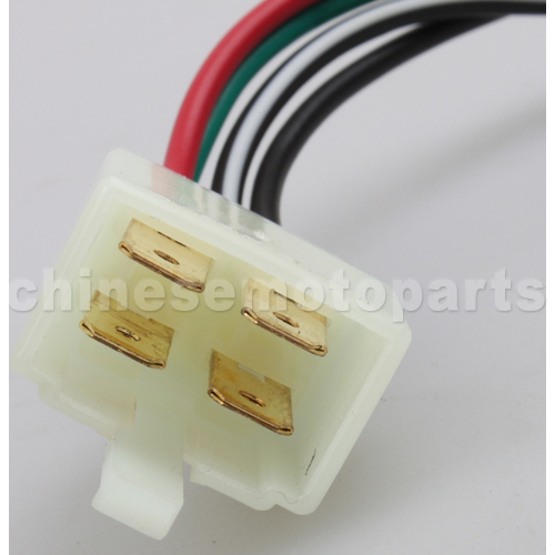 Wire Diagram Additionally 4 Pin Cdi Wiring Diagram On 110 Chinese Atv