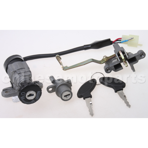 jonway 50cc scooter wiring diagram for jonway yy50qt-5 ignition switch assy for 50cc moped [h054 ... #12