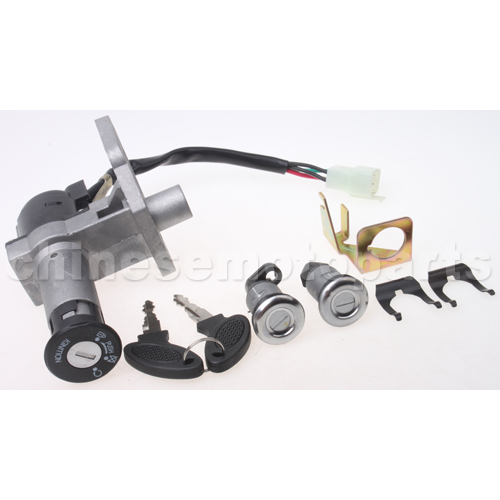 Ignition Switch Assy For 125cc 150cc Scooter Moped,Taotao