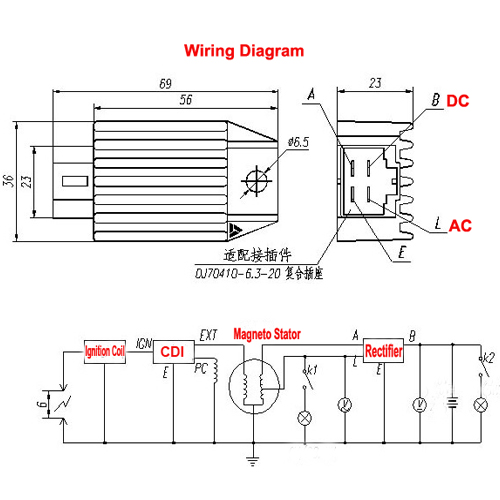 5 l wiring diagram 6 pin rectifier yhgfdmuor net 4 pin regulator rectifier wiring diagram at bakdesigns.co