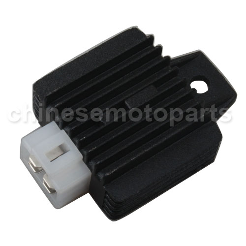 RECTIFIER / VOLTAGE REGULATOR FOR SCOOTER WITH GY6 150cc OR QMB139 50cc MOTORS