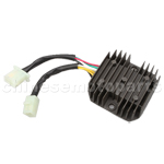 6 wire Double Plug Voltage Regulator for CH150cc ATV, Go Kart, M